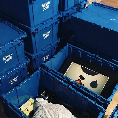 Bin It moving bins