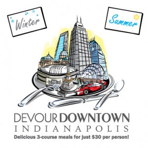 Devour Downtown logo