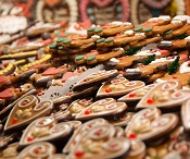 Gingerbread cookies at Christkindlmarkt