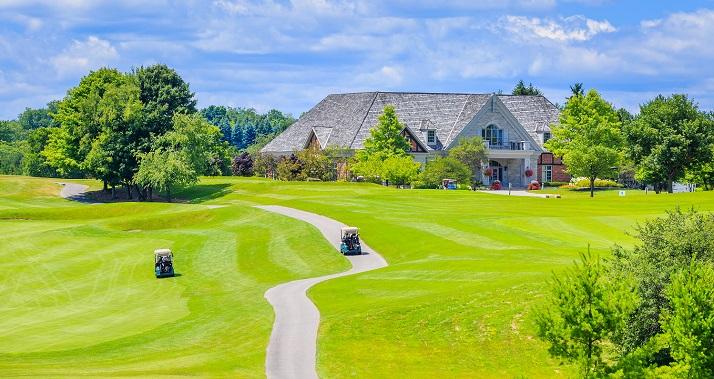 Carmel golf course home