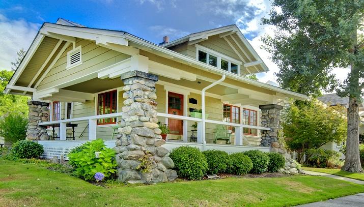 Vintage Craftsman bungalow