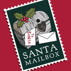Christmas in the Village - Santa's Mailbox