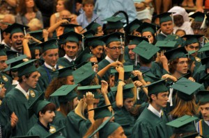 Zionsville High School graduation