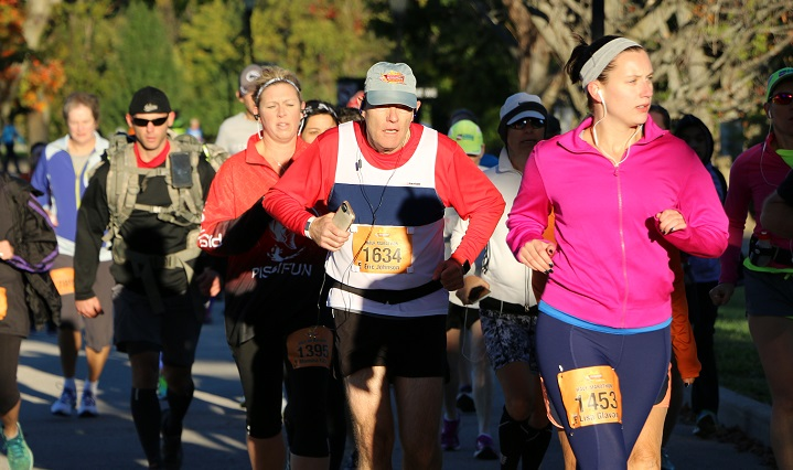 Indianapolis Half Marathon runners