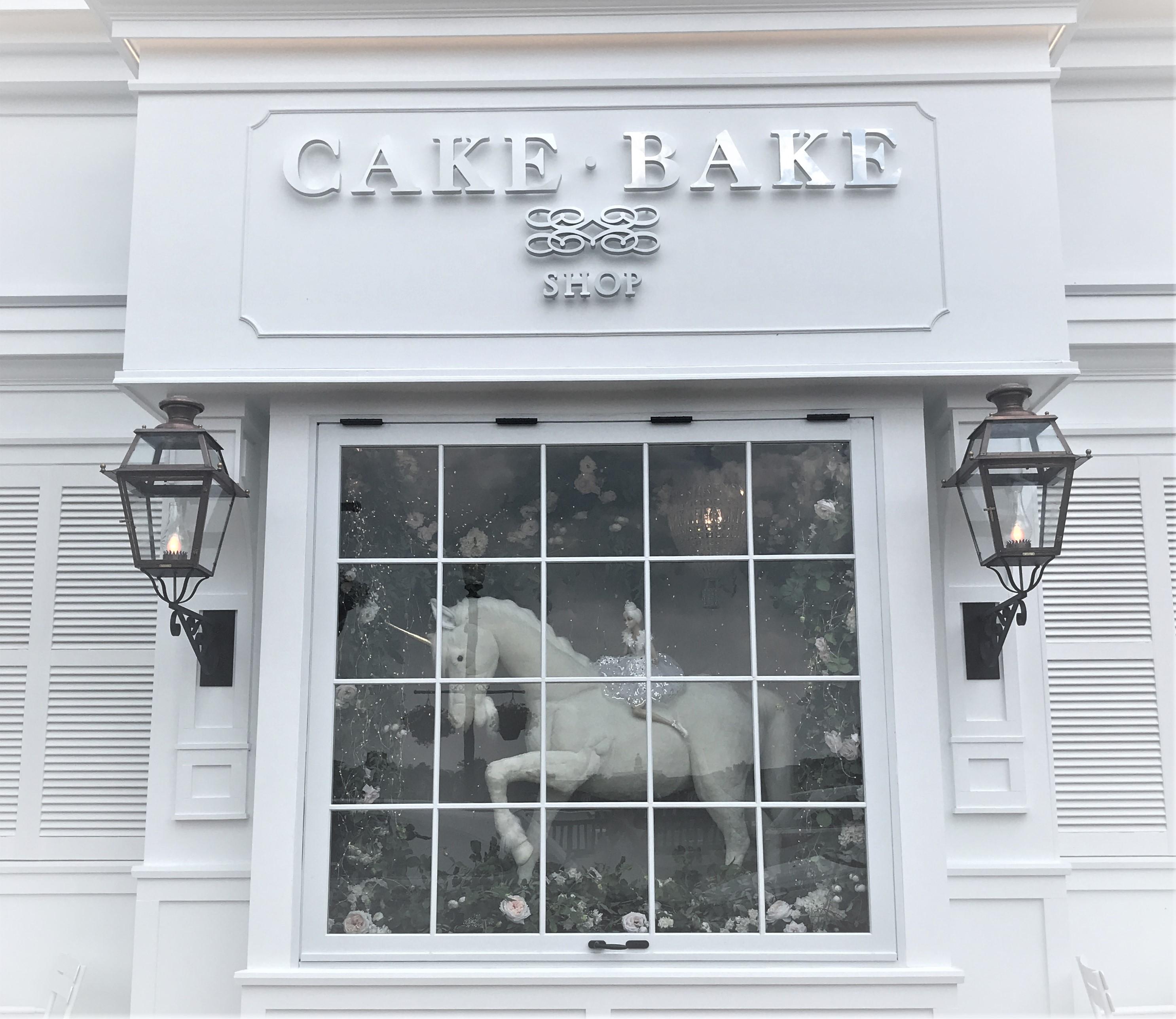 Exterior of Carmel's Cake Bake Shop