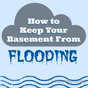 How to keep your basement from flooding