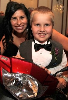 Kristie Smith and leukemia patient Luke