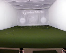 Indoor golf facility Golf Solutions, Zionsville IN