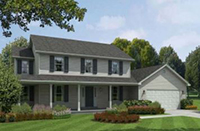 "The ""Adams"" Floor Plan - American Heritage Homes - Custom Home Builder"