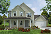 "The ""Belmont"" Floor Plan - American Heritage Homes - Custom Home Builder"