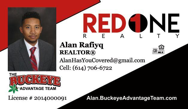 Alan Rafiyq - The Buckeye Advantage Team - Red 1 Realty