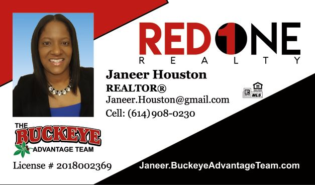 Janeer Houston - The Buckeye Advantage Team - Red 1 Realty