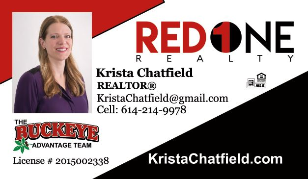 Krista Chatfield Realtor Red 1 Realty
