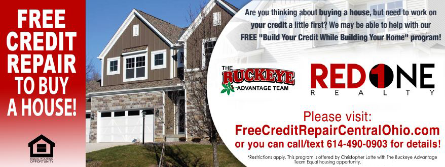 Free Credit Repair to Buy a Home in Canal Winchester