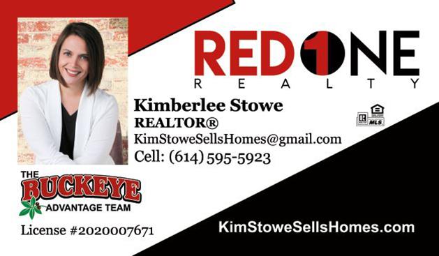 Kimberlee Stowe Realtor Red 1 Realty