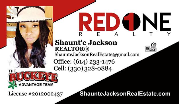 Shaunte Jackson Realtor Red 1 Realty