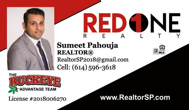 Sumeet Pajouja Realtor Red 1 Realty
