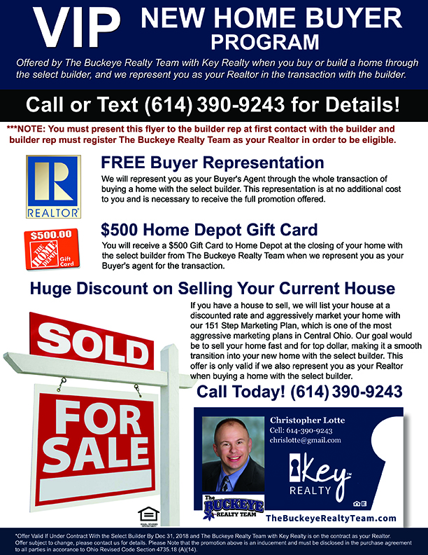VIP New Home Buyer Program