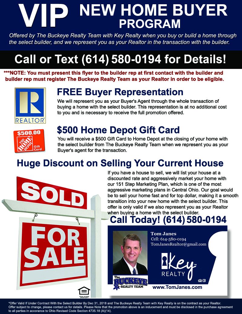 Tom Janes - The Buckeye Realty Team - Key Realty