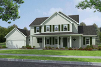 "The ""Clermont II"" Floor Plan - American Heritage Homes - Custom Home Builder"