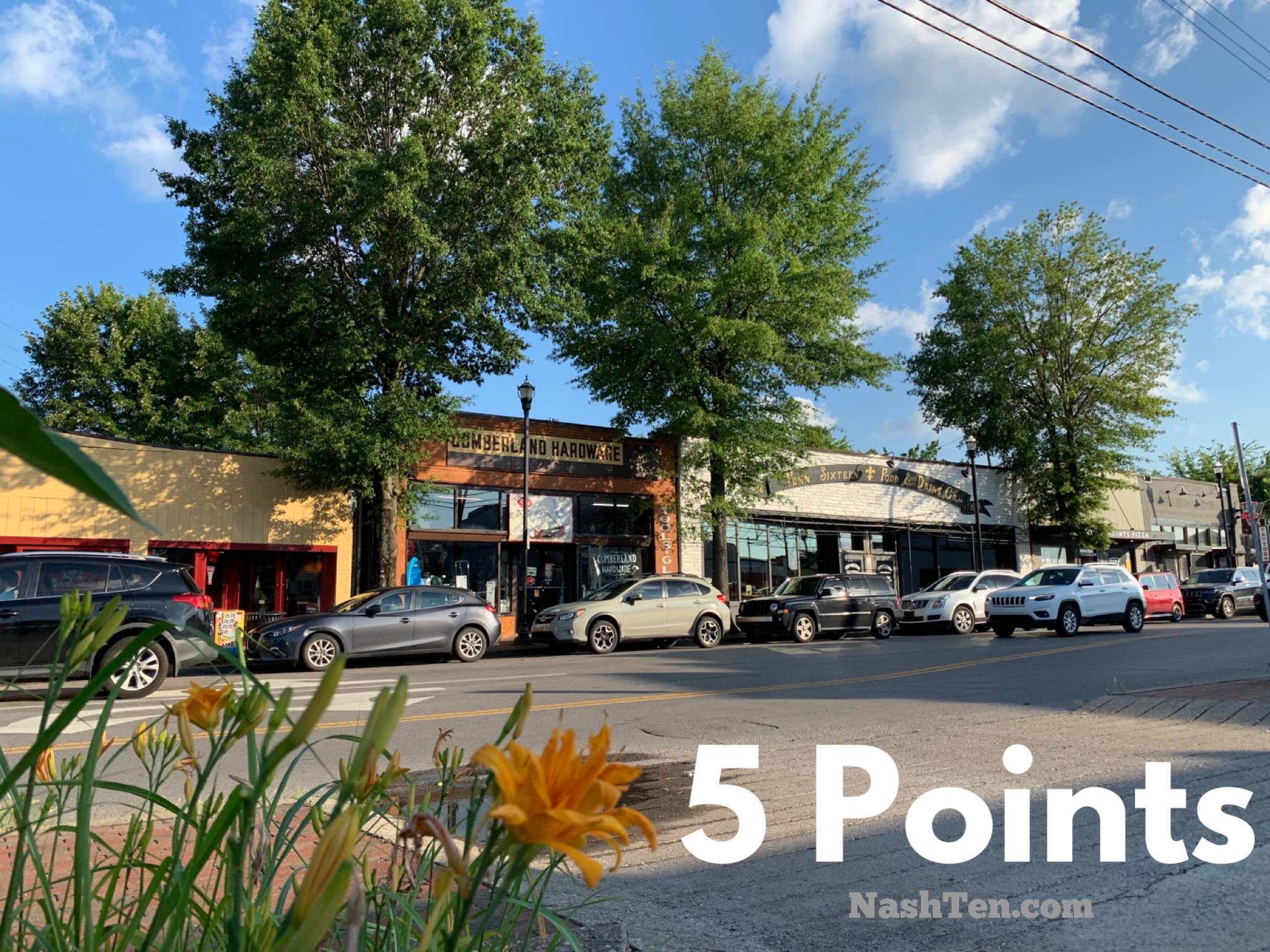 5 Points in East Nashville