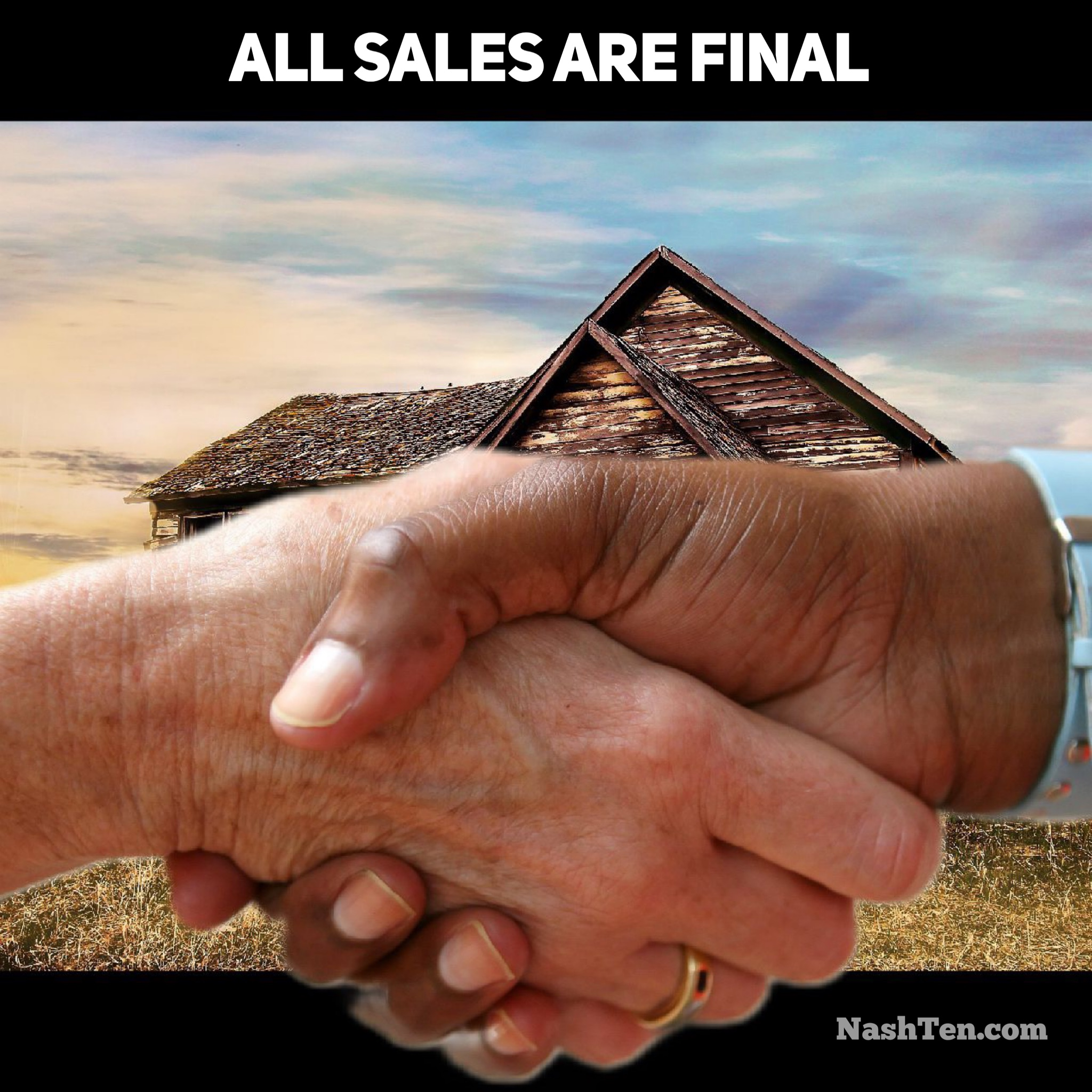 All Sales Final in Real Estate