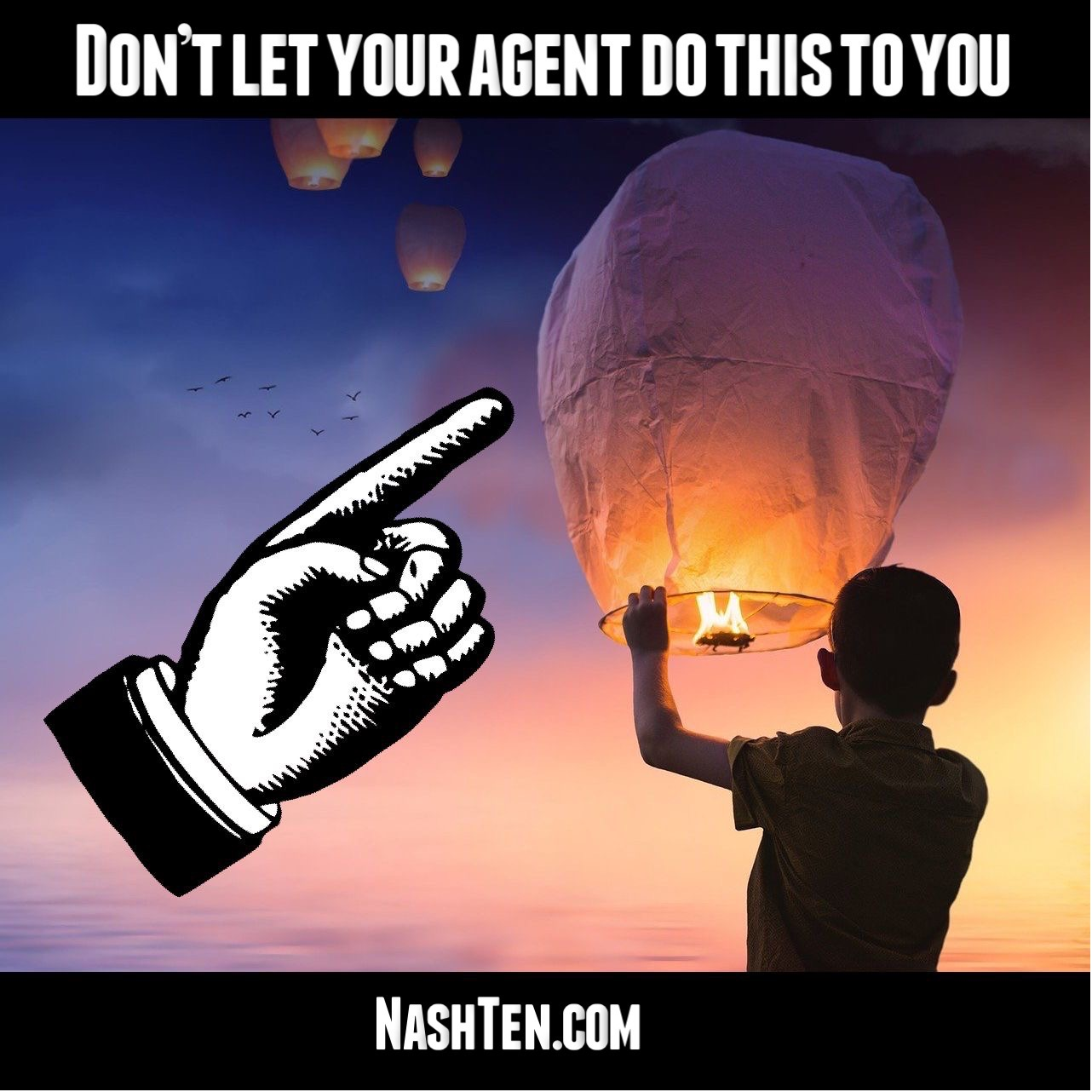 Don't let your agent do this to you