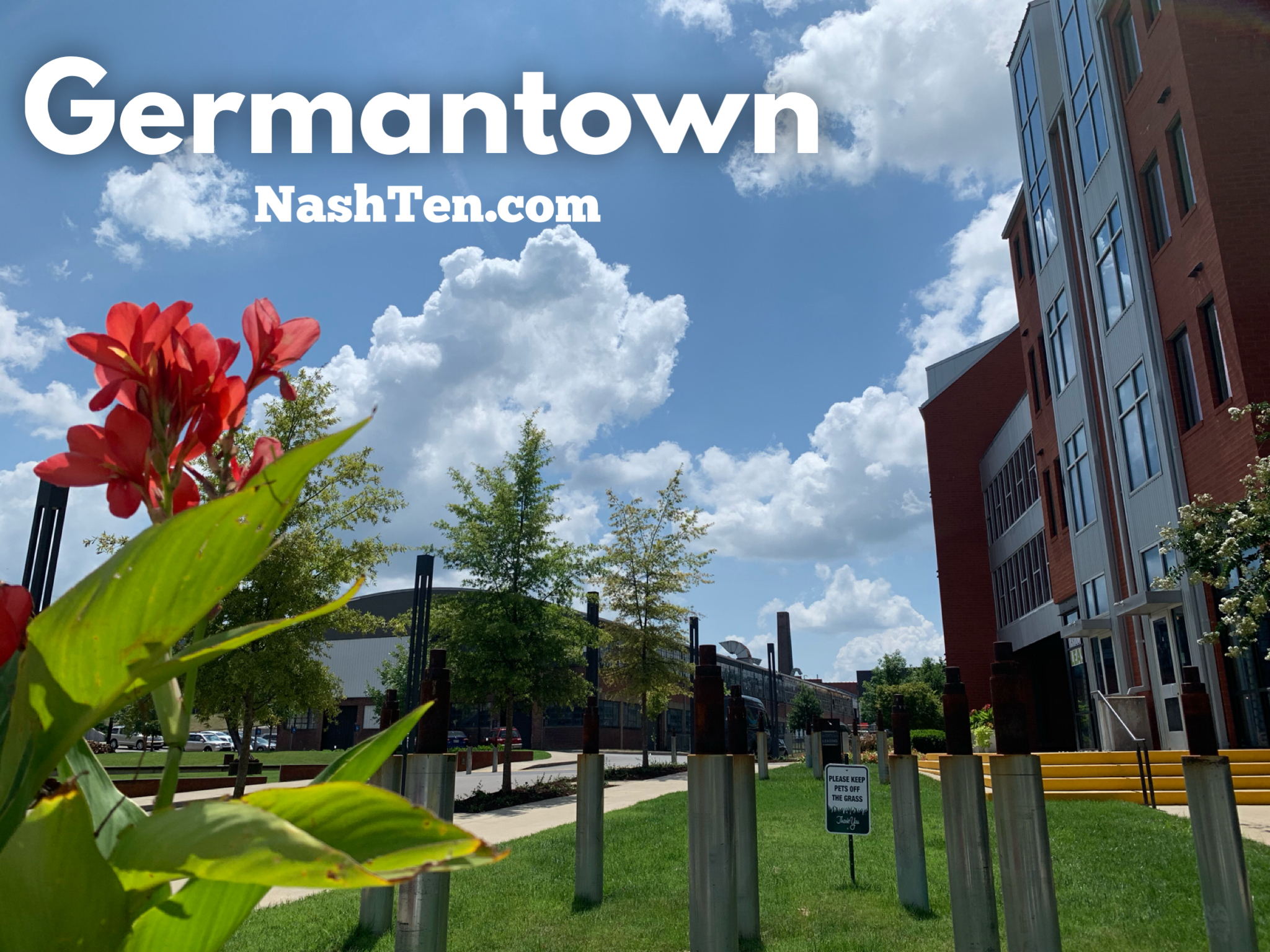 Germantown in Downtown Nashville TN
