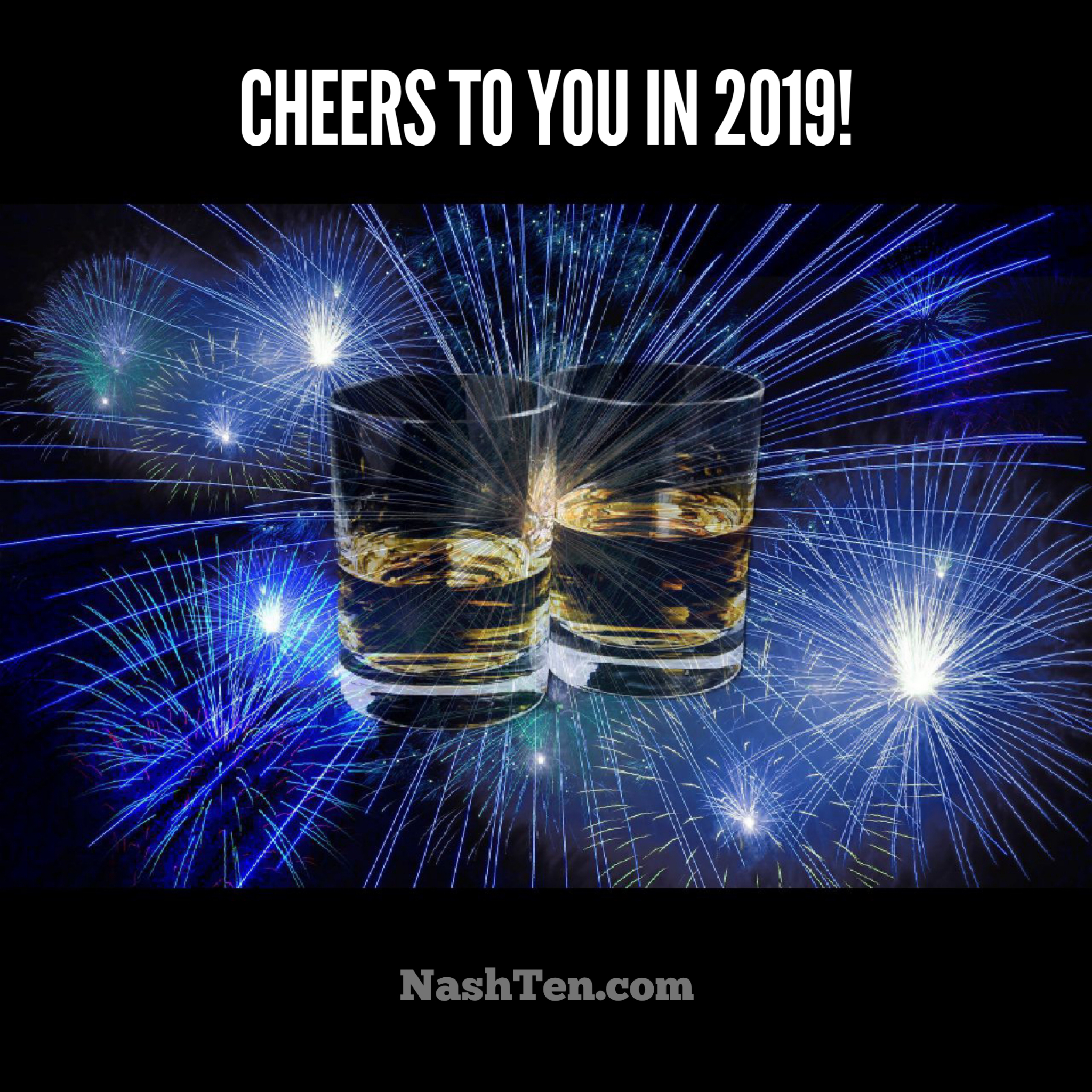 Cheers to you in 2019