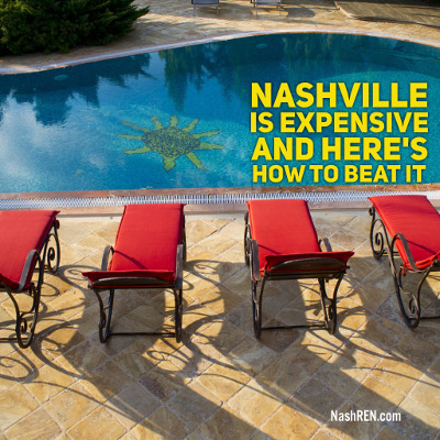 Nashville is expensive and here's how to beat it