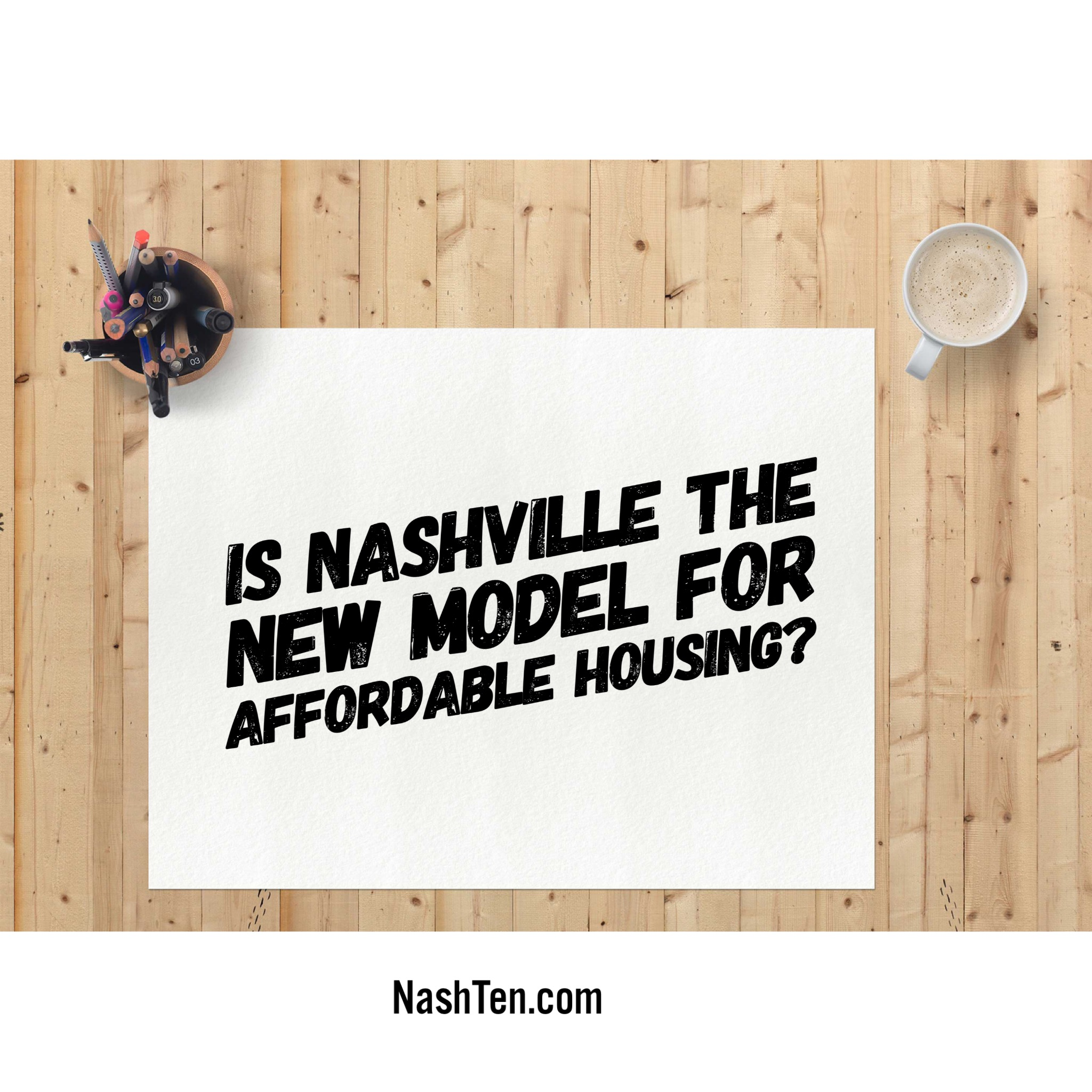Is Nashville the new model?
