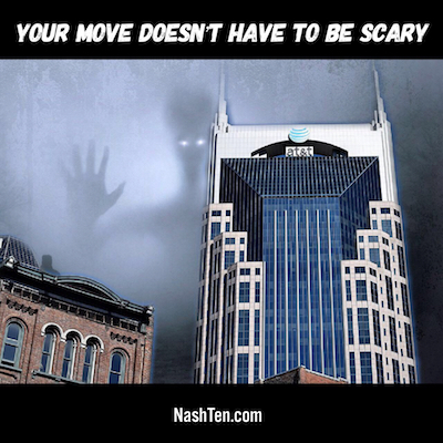 Your move to Nashville doesn't have to be scary