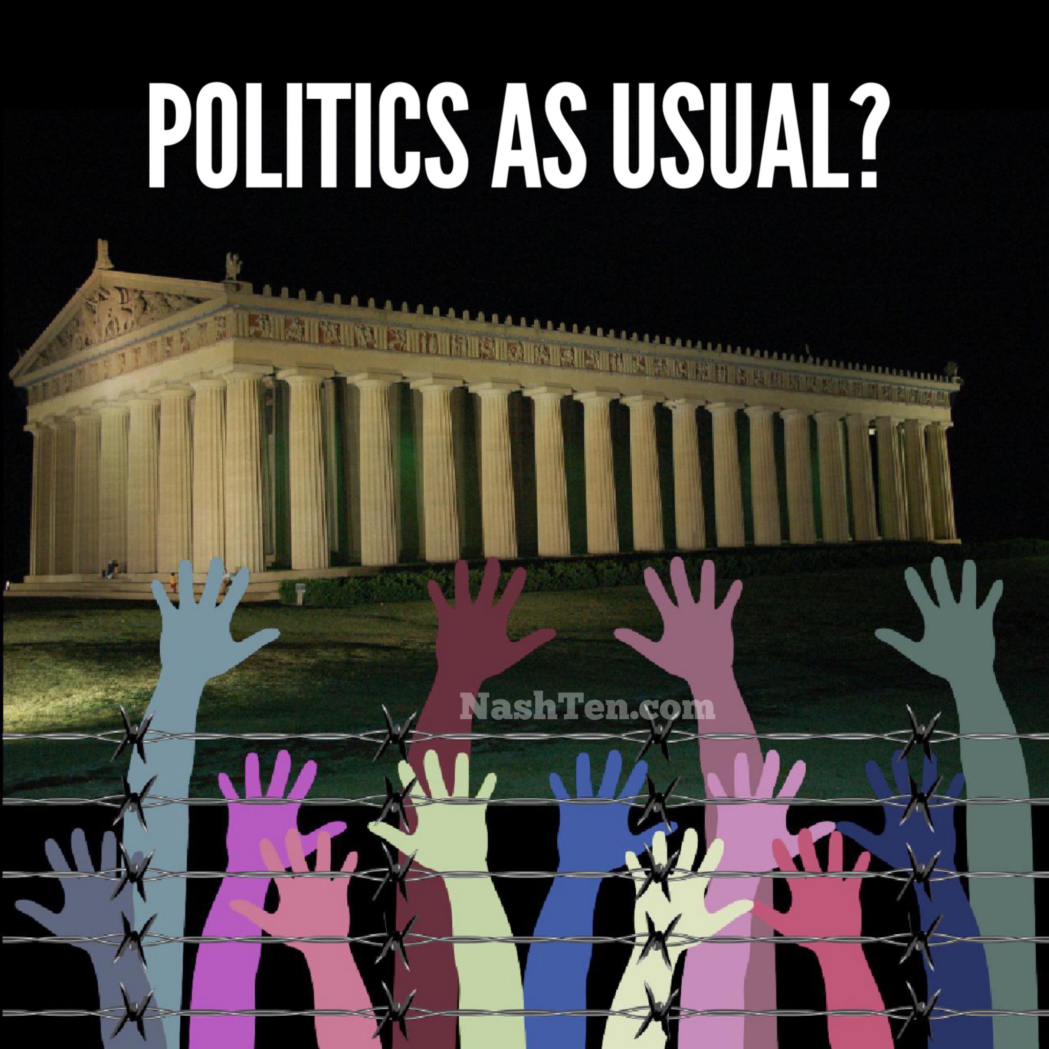 Nashville politics as usual?