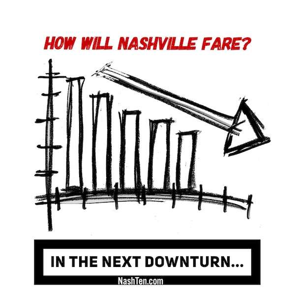 How will Nashville Fare the Next Downturn