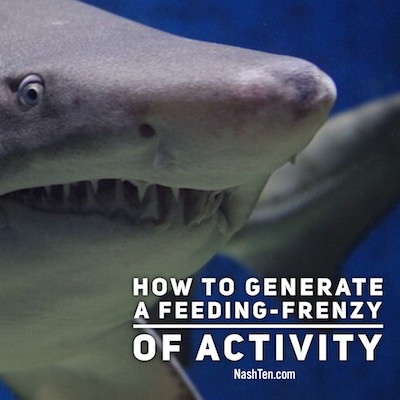 How to generate a feeding frenzy for your home for sale