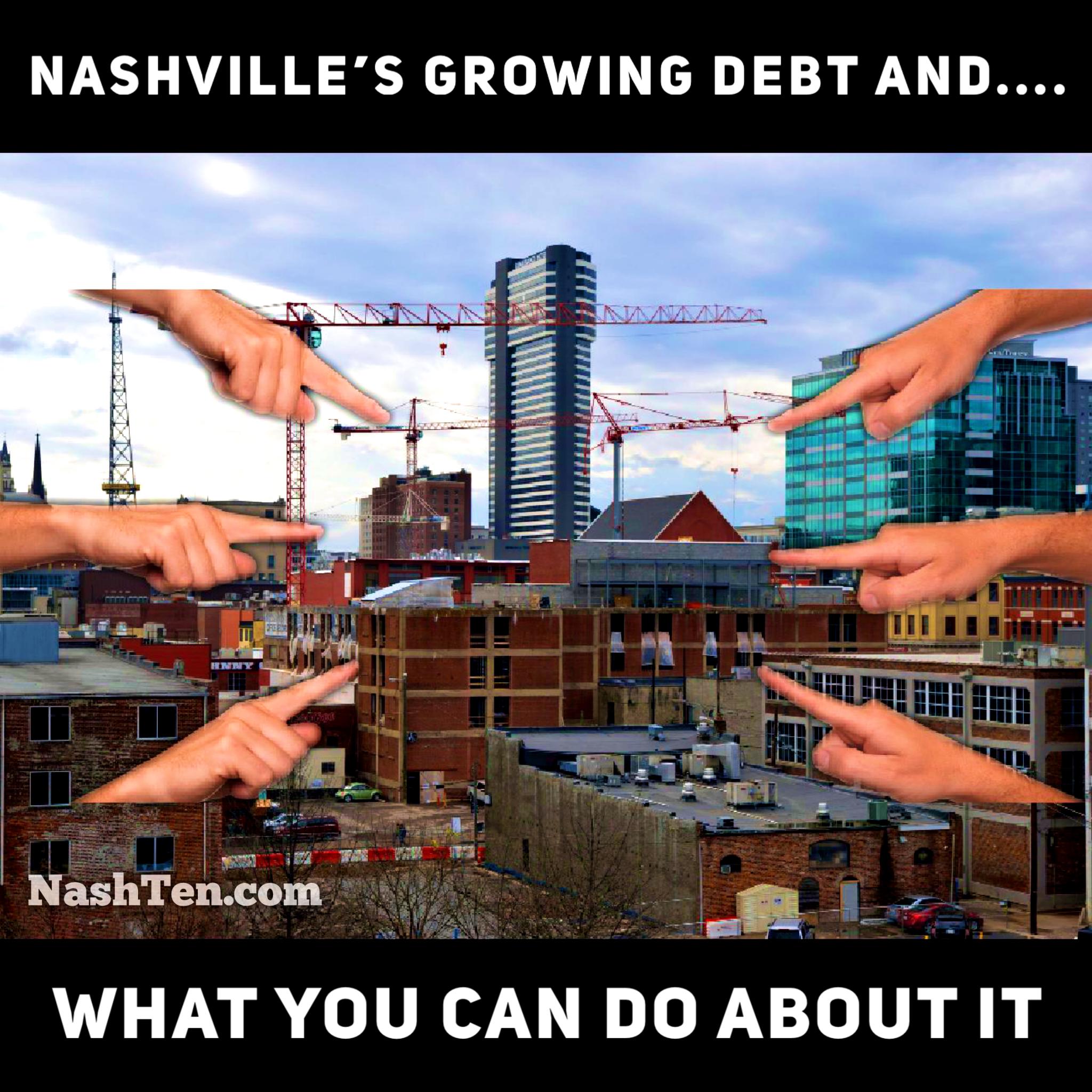 Nashville's growing debt burden