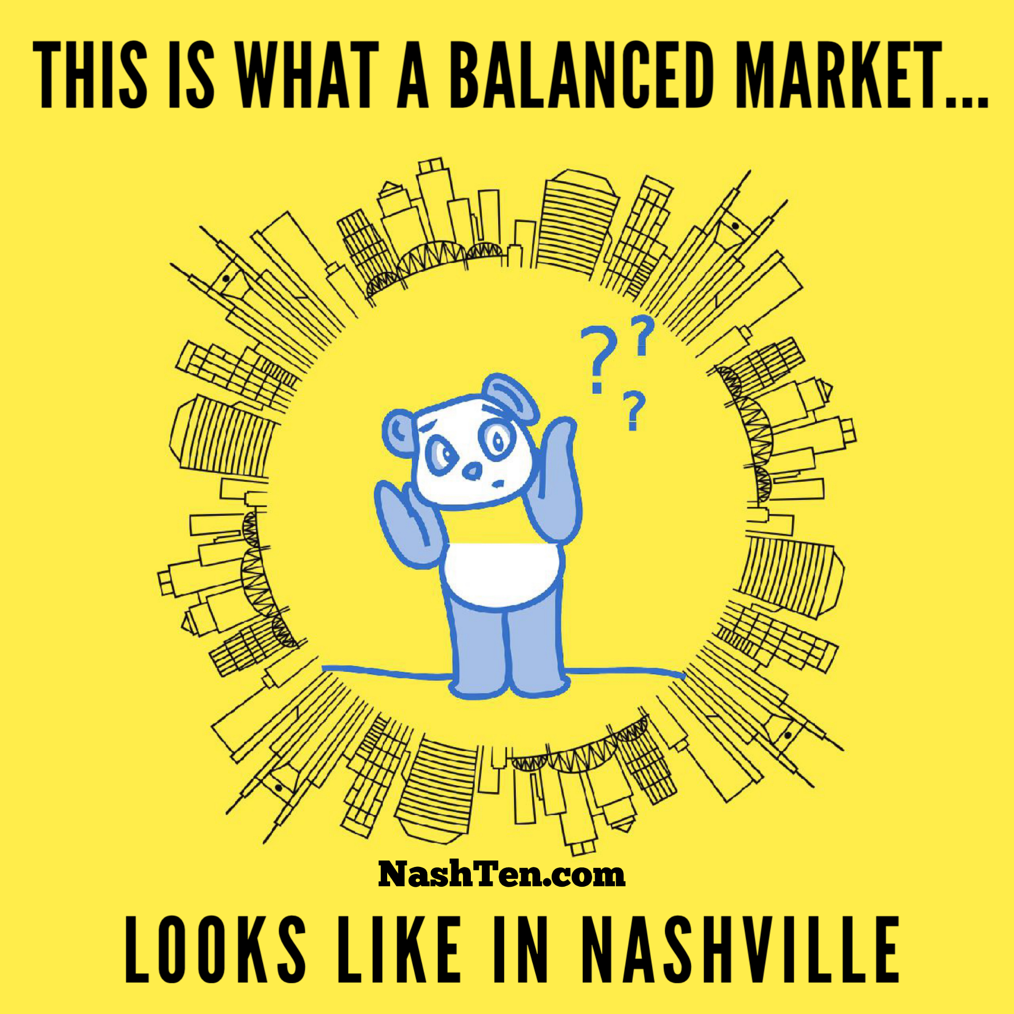 This is what a balanced market looks like in Nashville