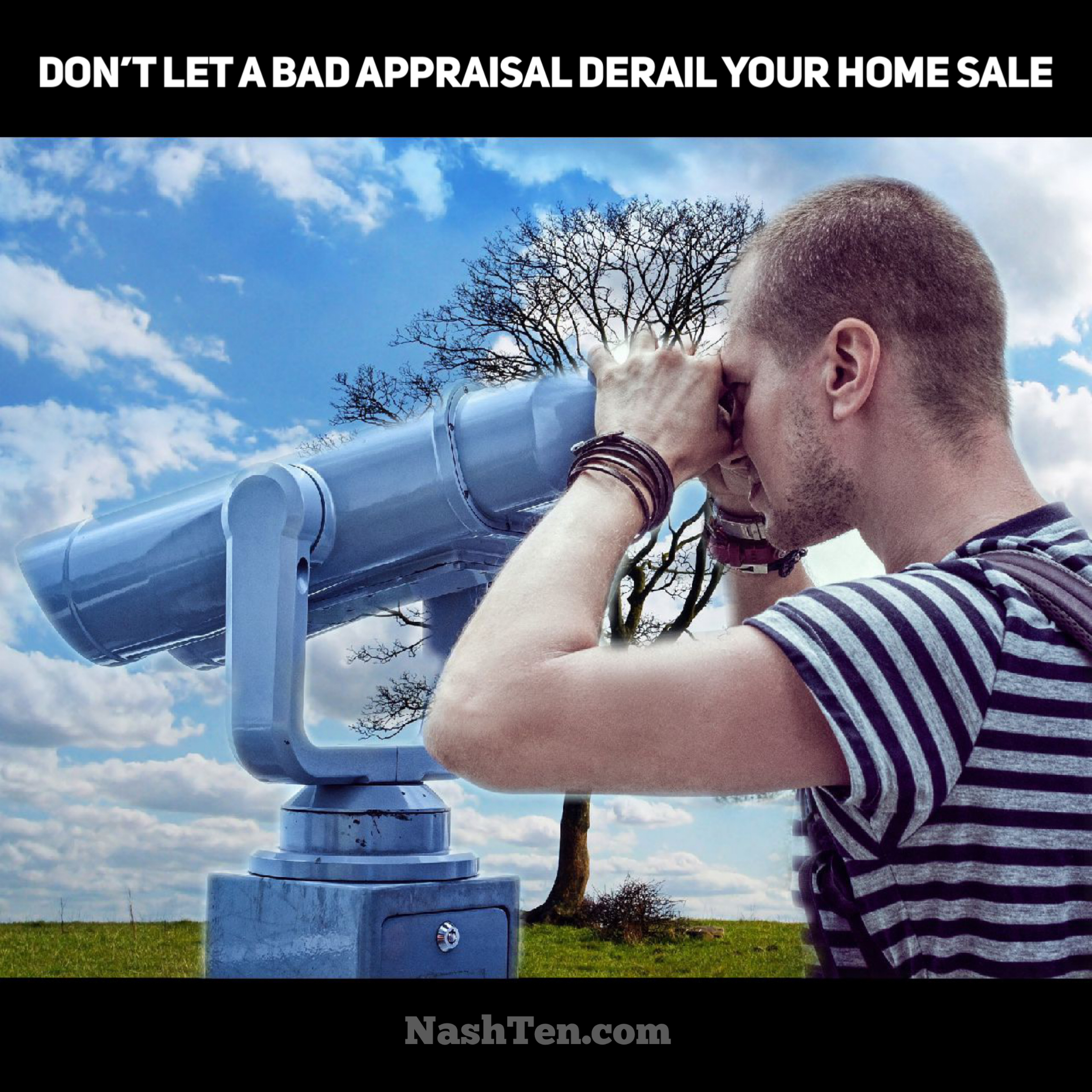 Don't let a bad appraisal crash your home sale