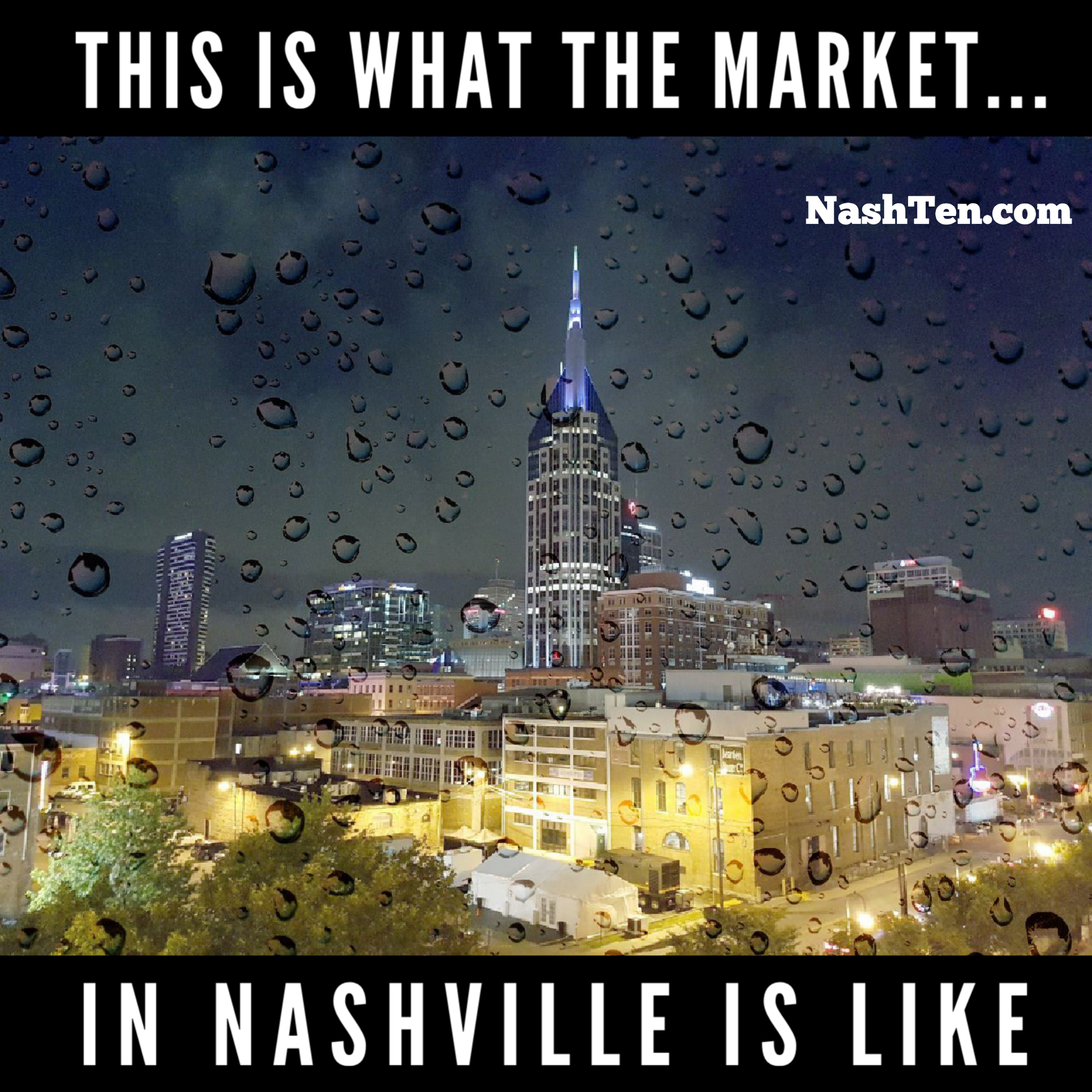 This is what the real estate market in Nashville is like right now