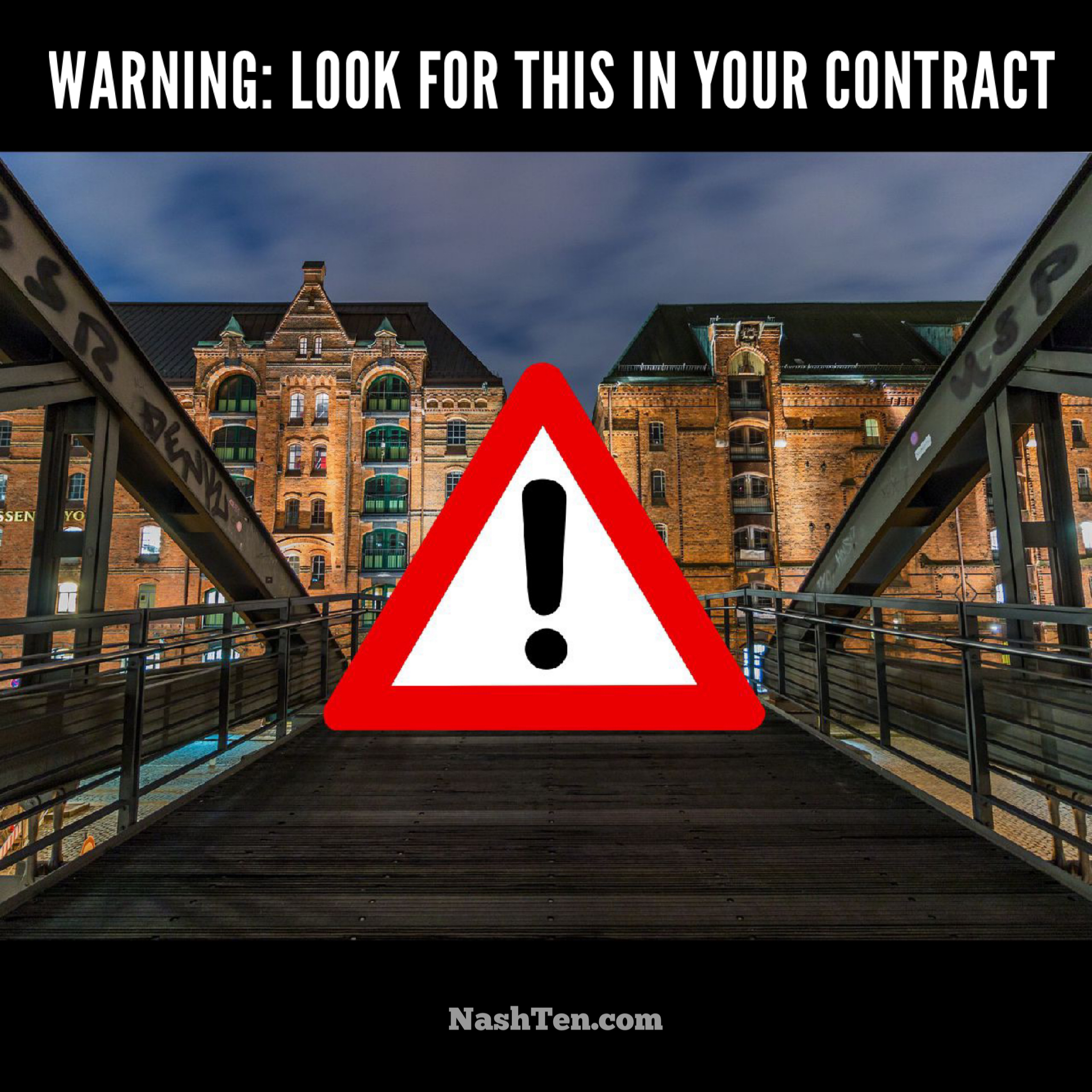 Warning: Look for this in your real estate contract