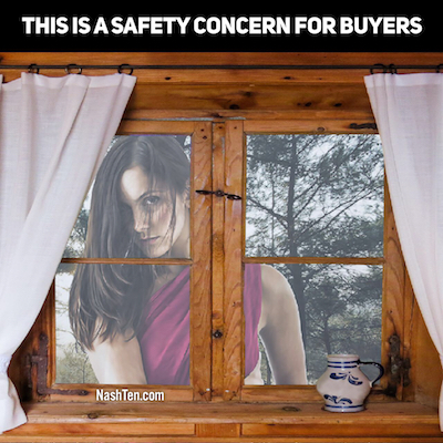 This is a safety concern in real estate