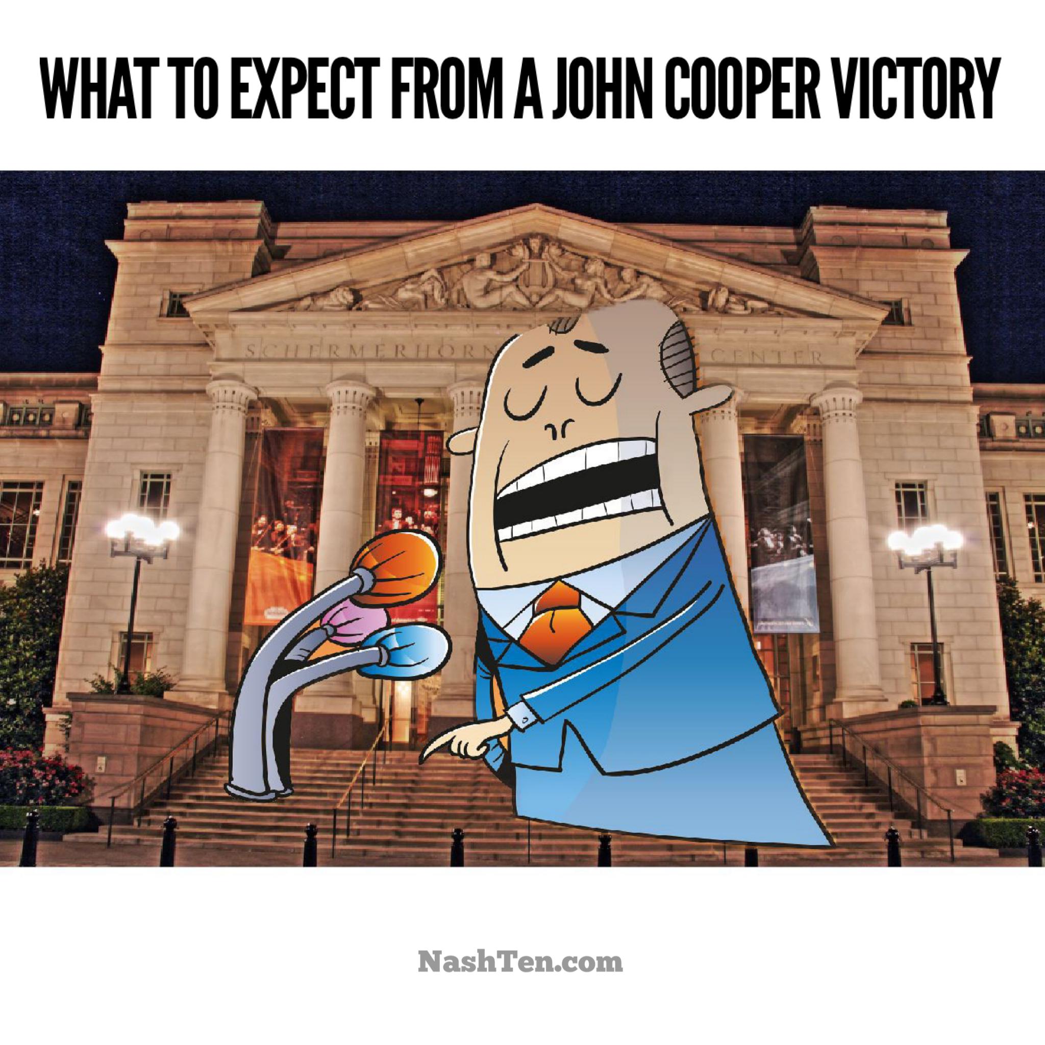 John Cooper victory in Nashville