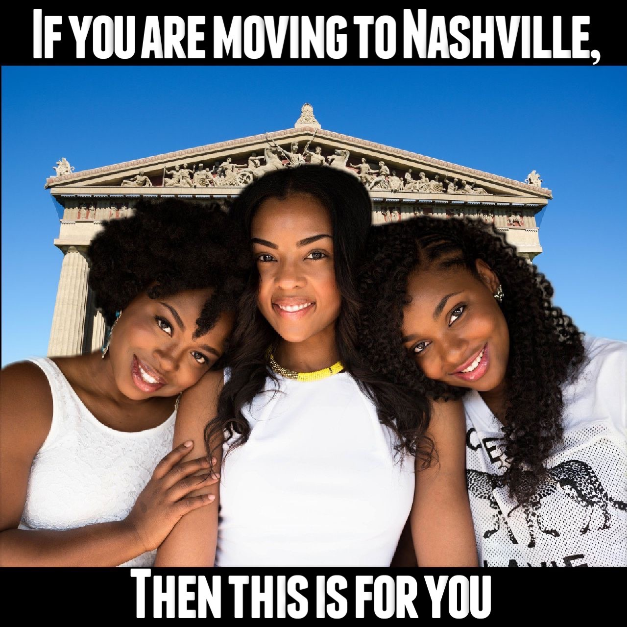 If you are moving to Nashville, this is for you