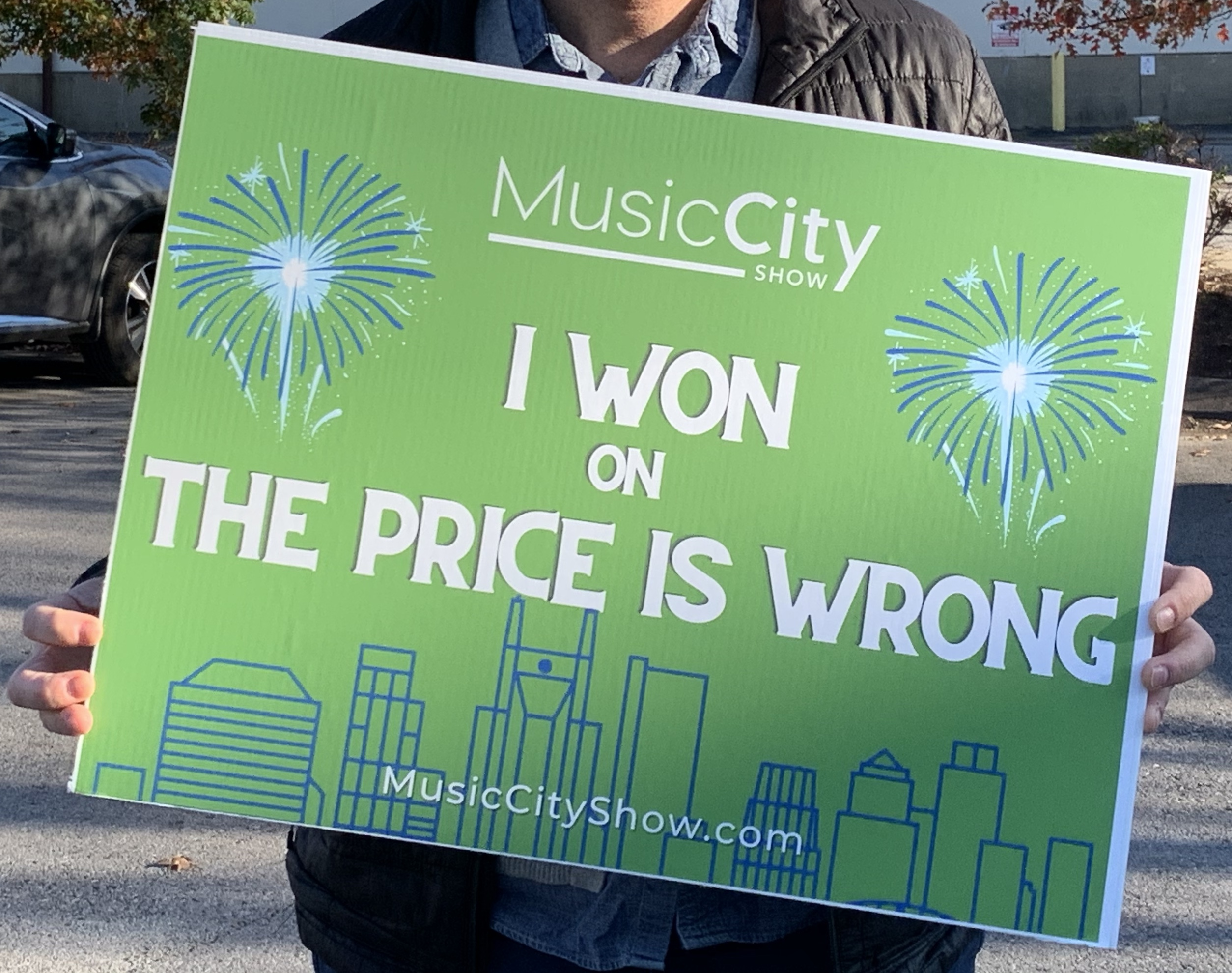 I won on The Price is Wrong