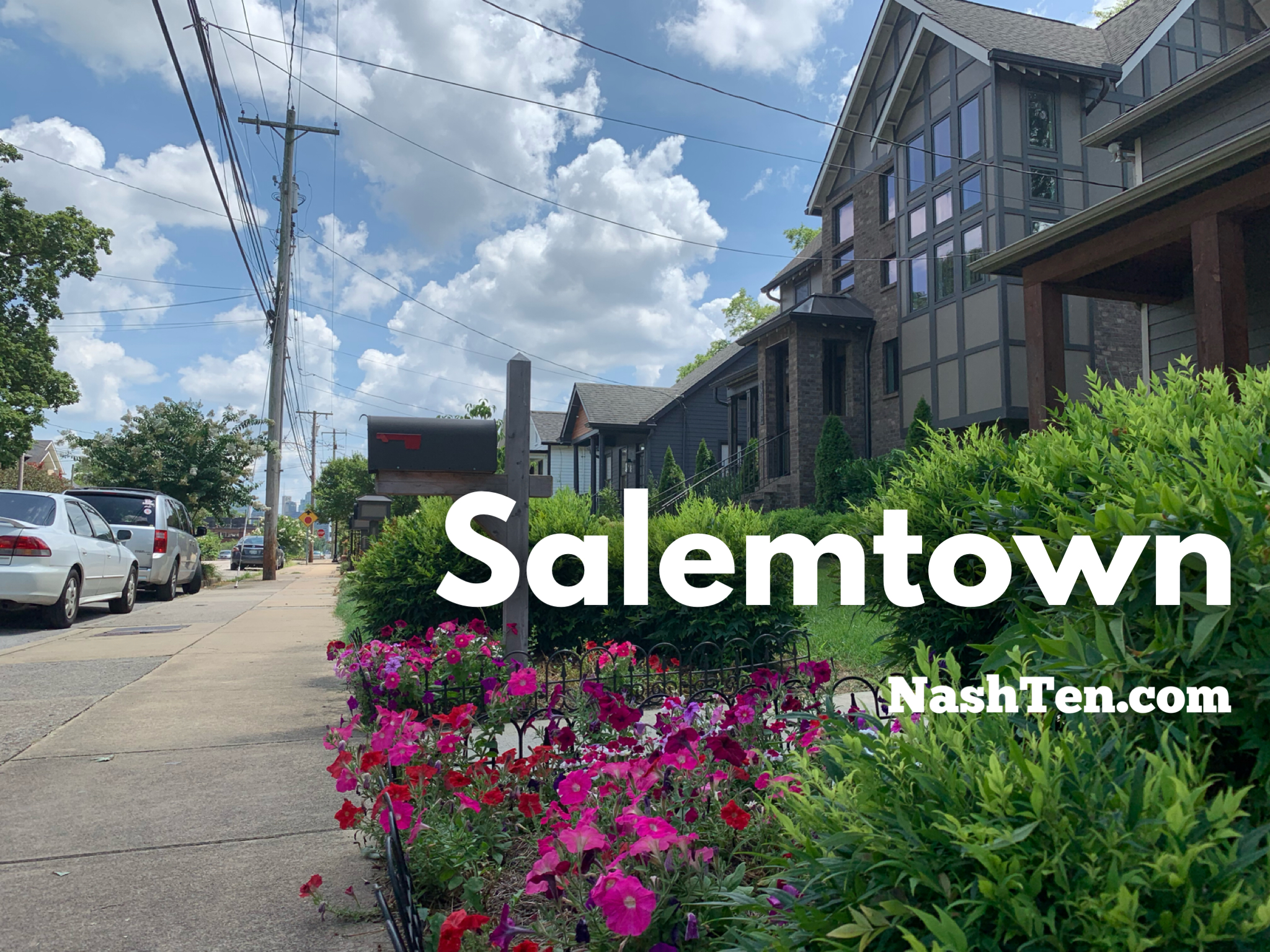 Salemtown in Downtown Nashville TN