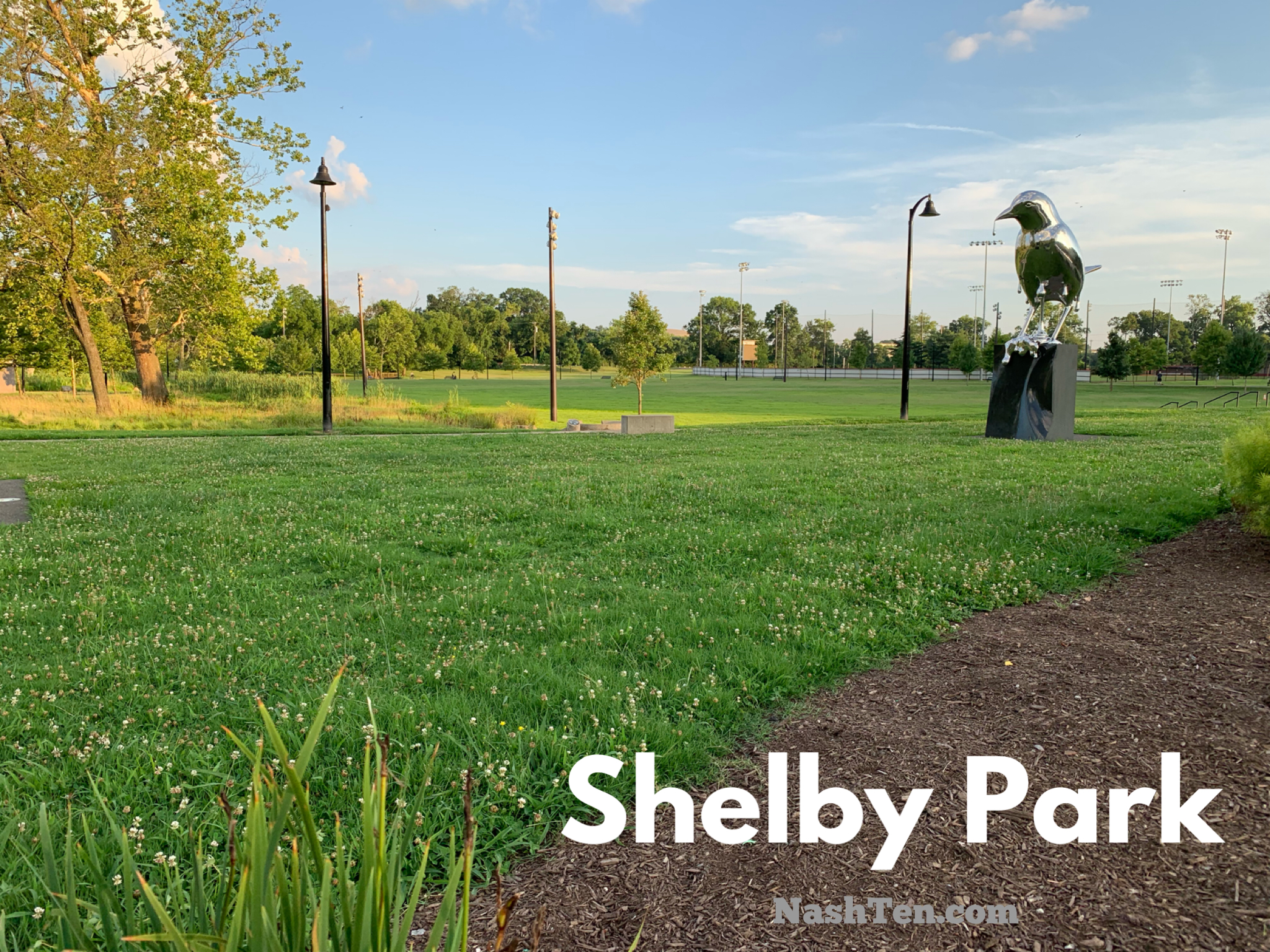 Shelby Park in East Nashville