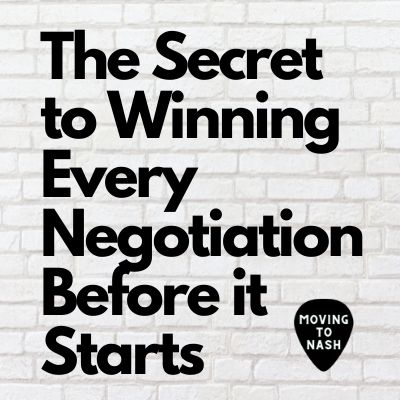 The Secret to Winning Negotiations Before They Start