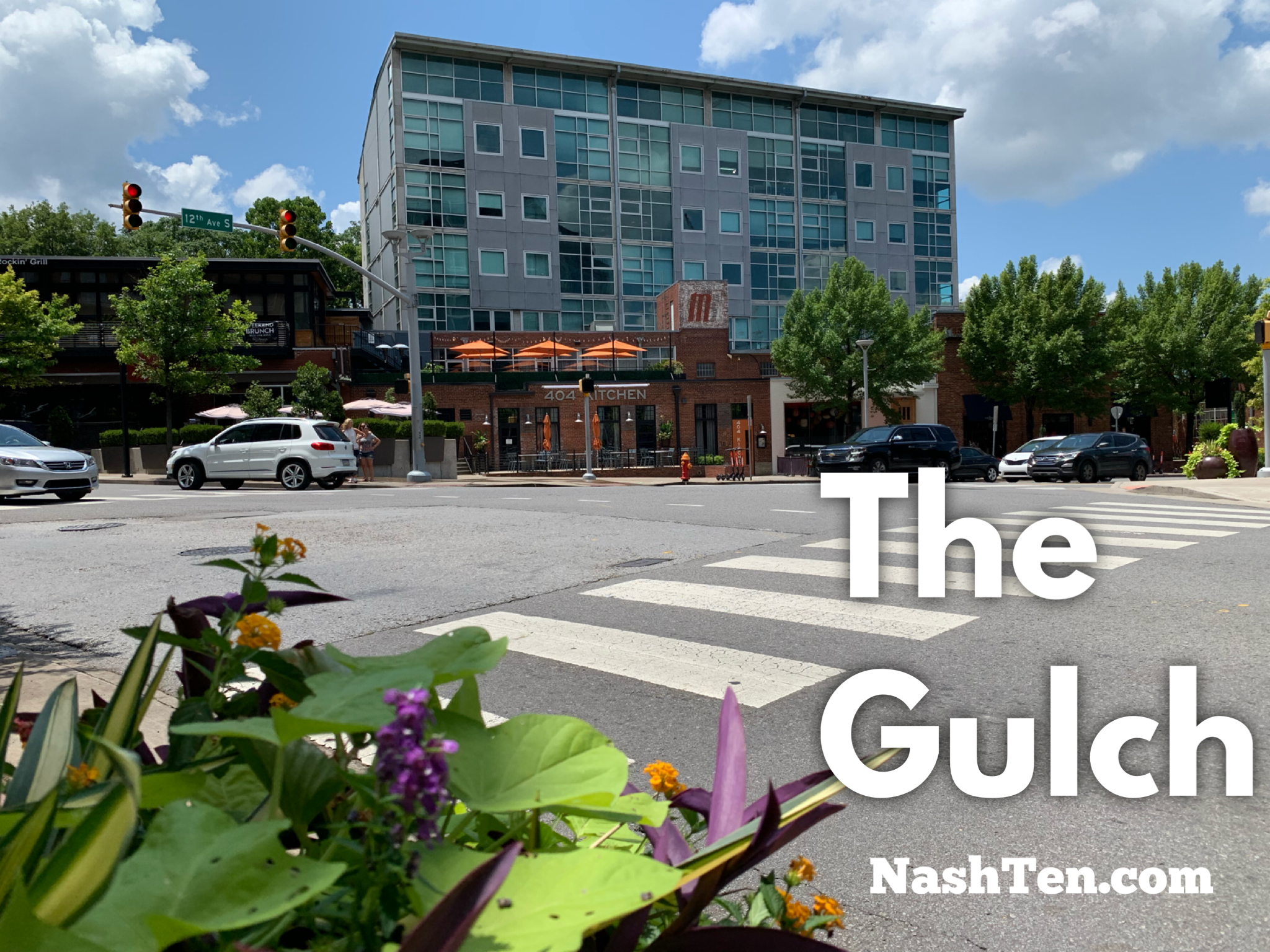 The Gulch in Downtown Nashville