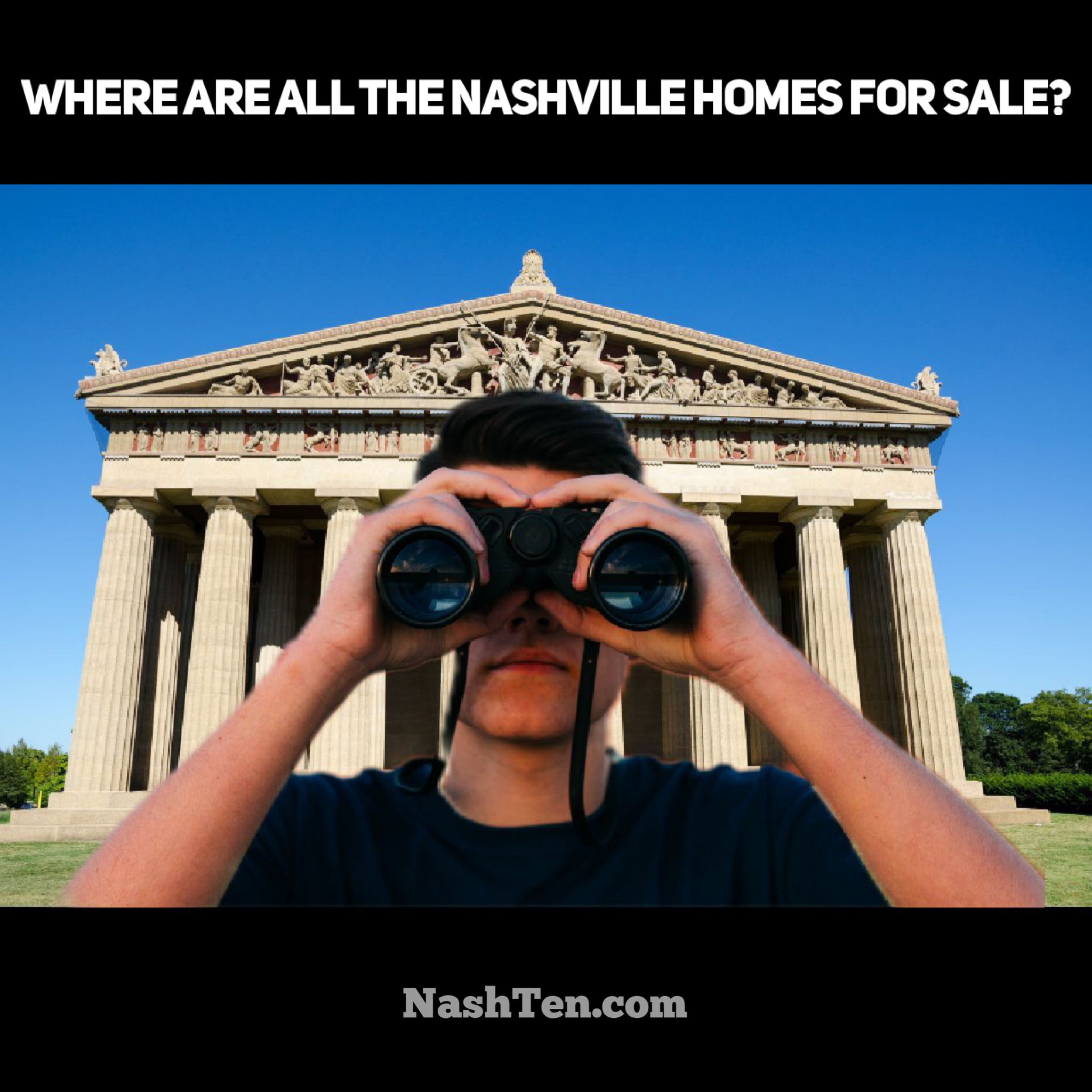 Where are all the Nashville Homes for Sale?