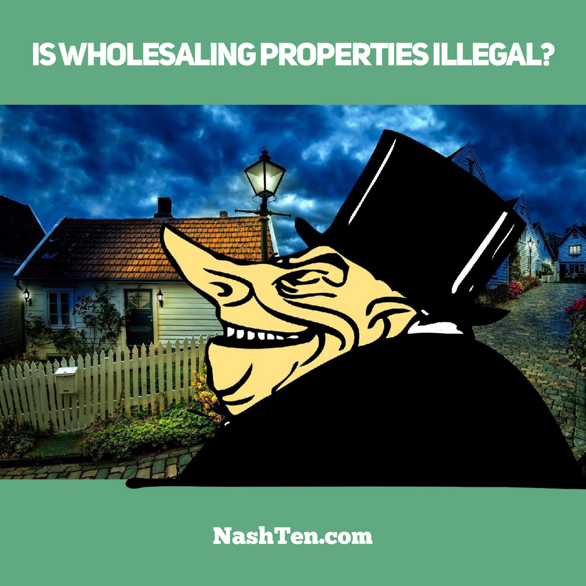 Is wholesaling illegal in Tennessee?
